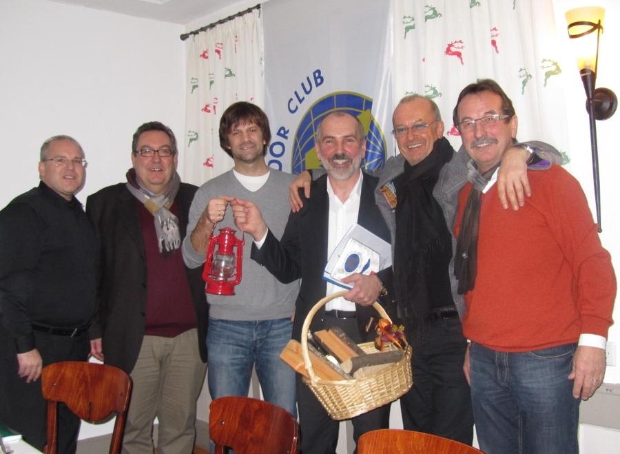 Franz Stelzl Aufnahme in Club